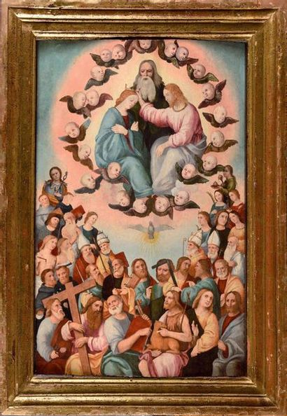 Ecole ITALIENNE vers 1520, entourage de Girolamo...