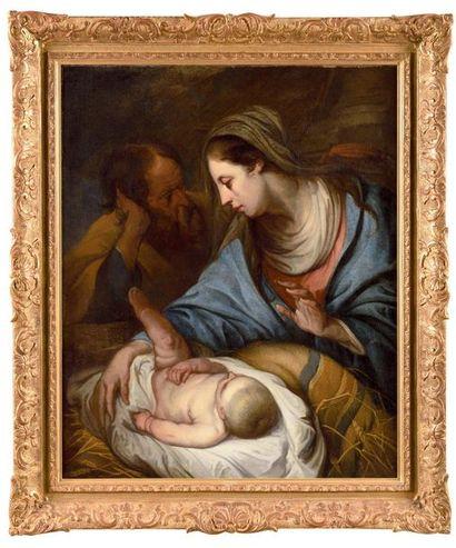Jan Van den HOECK (Anvers 1611- 1651) La...