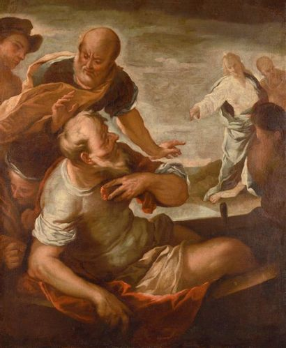 Ecole ITALIENNE vers 1700, suiveur de Luca...