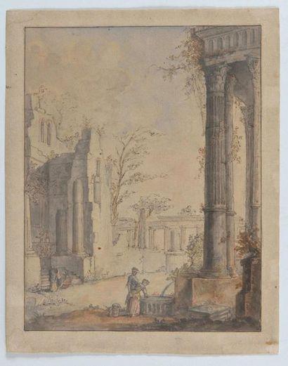 École Française de la fin du XVIIIème siècle,...