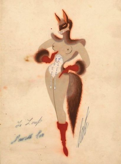 ERTE (Romain de TIRTOFF) (1892–1990)  Le...