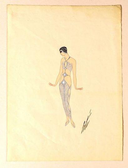 ERTE (Romain de TIRTOFF) (1892–1990)  Costume...