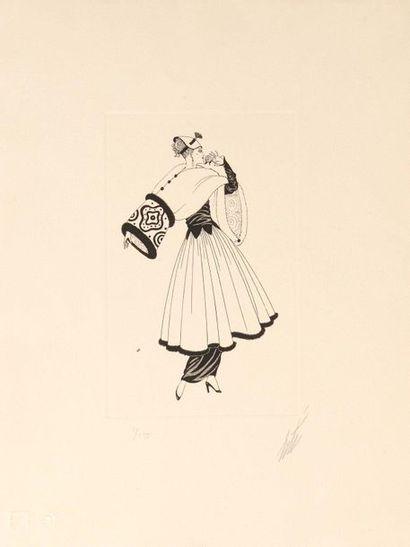ERTE (Romain de TIRTOFF) (1892–1990)  Femme...