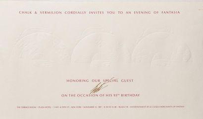 ERTE (Romain de TIRTOFF) (1892–1990)  Invitation...