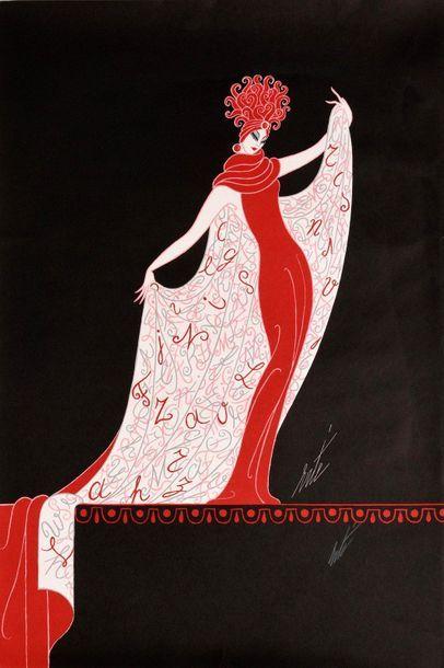 ERTE (Romain de TIRTOFF) (1892–1990)  Une...