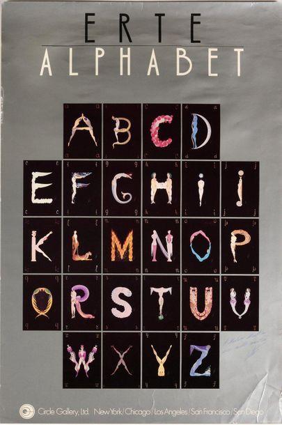 ERTE (Romain de TIRTOFF) (1892–1990)  Alphabet...