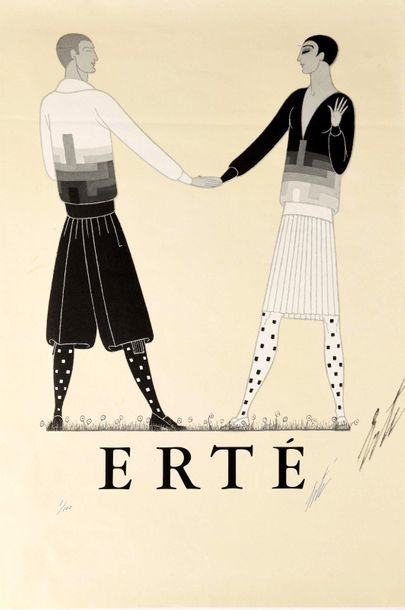 ERTE (Romain de TIRTOFF) (1892–1990)  Personnages...