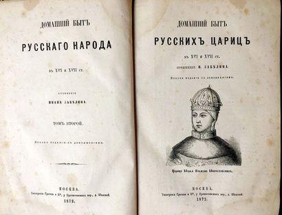 ZABELIN Ivan (1820-1908)  Le peuple russe...