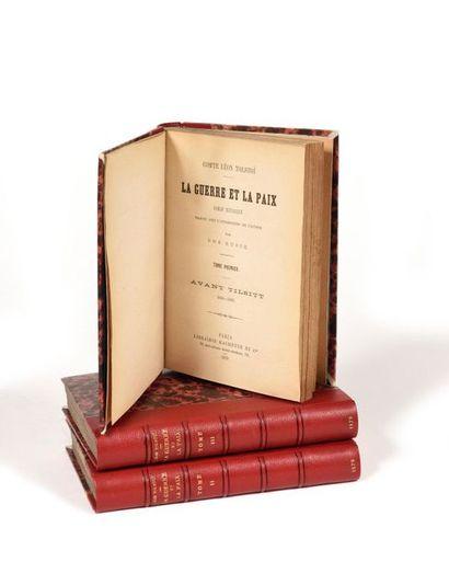 [LA GUERRE ET LA PAIX]  TOLSTOÏ Léon (1828–1910)...