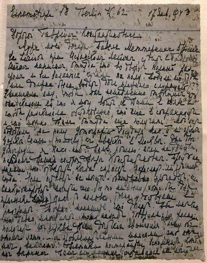 VASILTCHIKOVA Lidia, duchesse - Autographe...