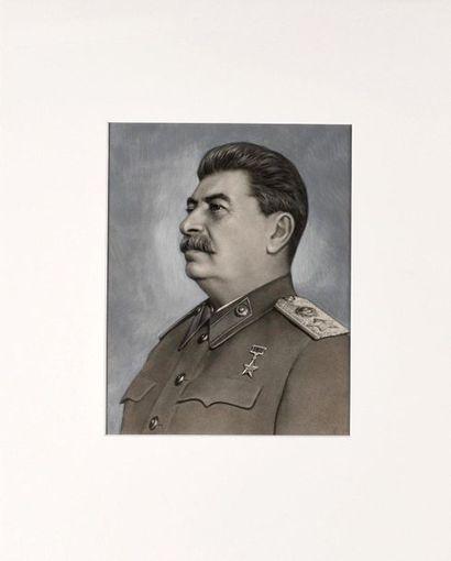 Portrait de Joseph Staline  1946. Photographie...