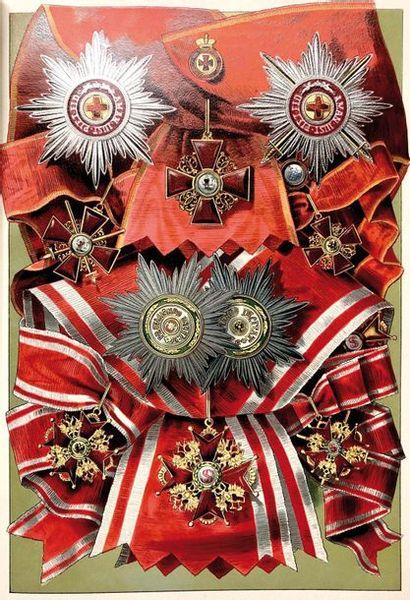 Ordres Russes : Abrégé historique, extrait des statuts.  Rédigé sous les auspices...