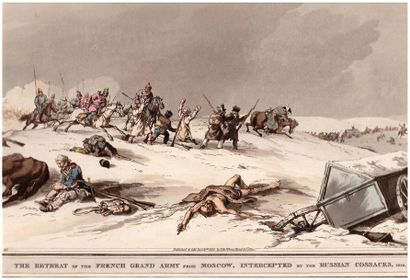 [ARMEE RUSSE].  « The retreat of the french...