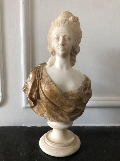 D'après Félix LECOMTE (1737-1817) Buste de...