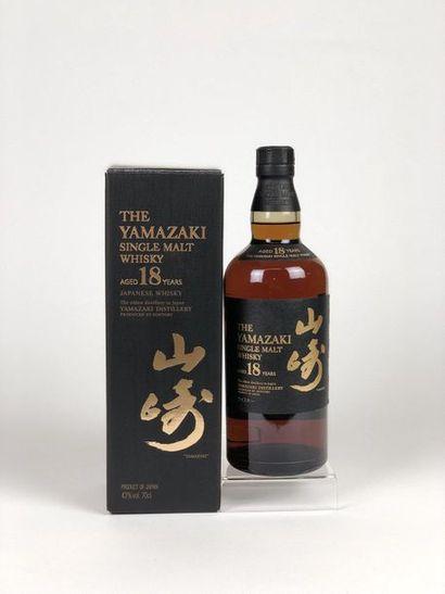 1 bouteille WHISKY YAMAZAKI 18 years old...