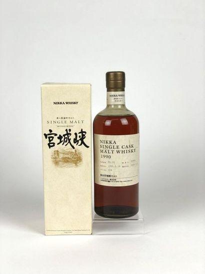 1 bouteille WHISKY NIKKA 1990/2009 Single...