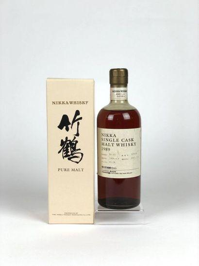 1 bouteille WHISKY NIKKA 1989/2007 Single...