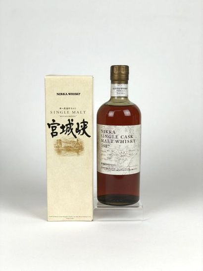 1 bouteille WHISKY NIKKA 1987/2010 Single...