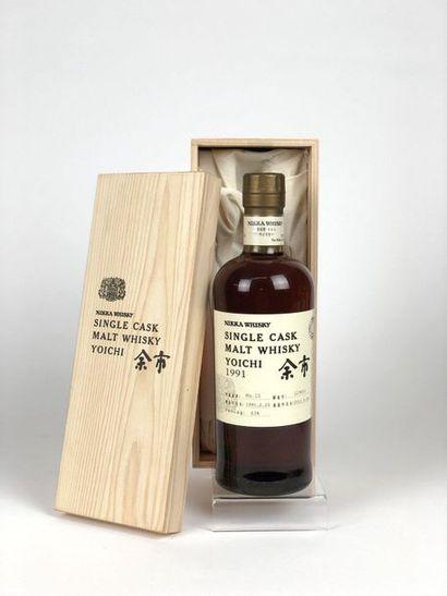 1 bouteille WHISKY NIKKA 1991/2011