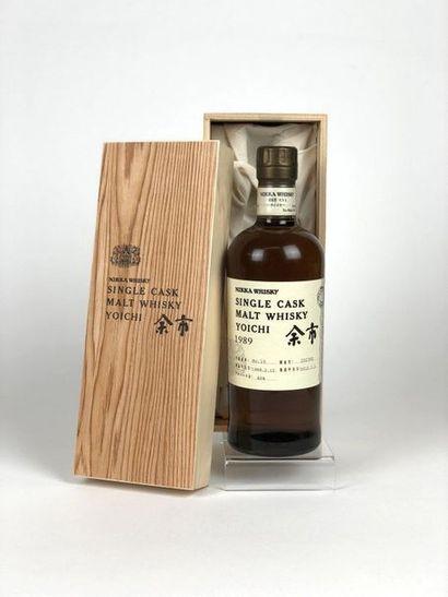 1 bouteille WHISKY NIKKA 1989/2012