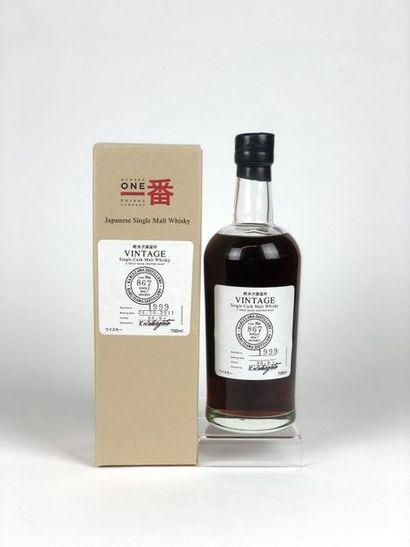 1 bouteille WHISKY KARUIZAWA 1999/2011 cask...