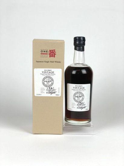 1 bouteille WHISKY KARUIZAWA 1981/2011 caskn°2634...
