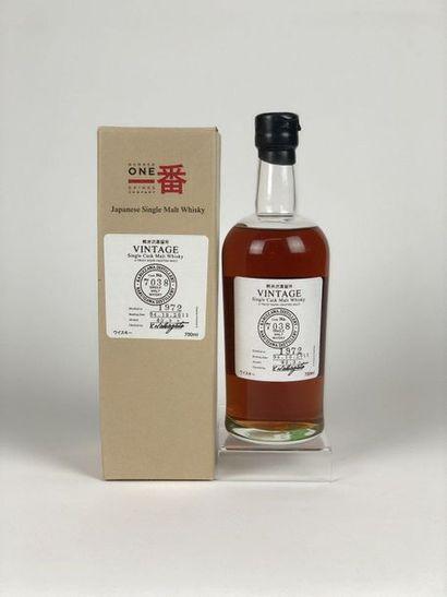 1 bouteille WHISKY KARUIZAWA 1972/2011 cask...