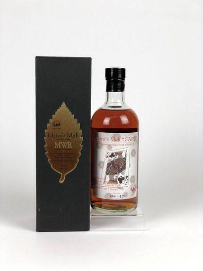 1 bouteille WHISKY ICHIRO MALT 1988/2010...