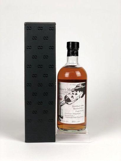 1 bouteille WHISKY ICHIRO MALT 1988/2011...