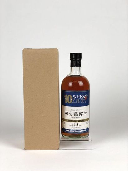 1 bouteille WHISKY LIVE (10ans) 1991/2009...