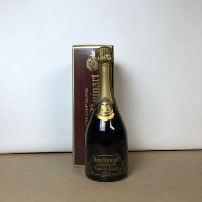 1 bouteille CHAMPAGNE DOM RUINART 1973 Vintage...