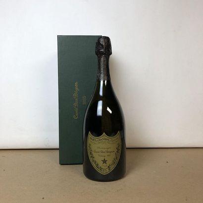 1 bouteille CHAMPAGNE DOM PERIGNON 1985 Vintage...