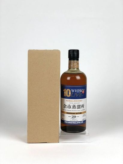 1 bouteille WHISKY LIVE (10ans) 1989/2011...