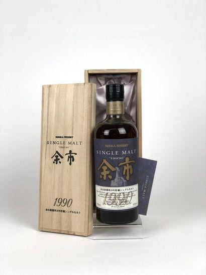 1 bouteille WHISKY NIKKA 1990