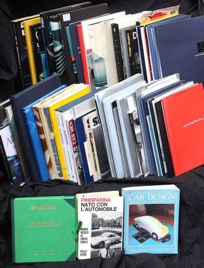 Livres sur la carrosserie et le design automobile....