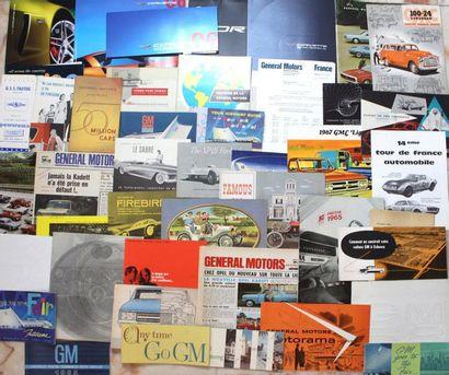 Documentation GENERAL MOTORS- Etats-Unis...