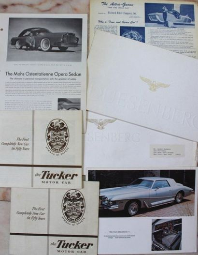 Catalogues marques rares et/ou prestigieuses...