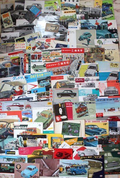 Documentation - Marques DATSUN NISSAN - Japon,...