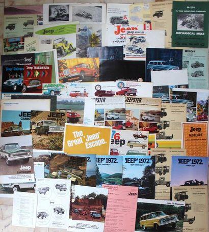 Documentation JEEP - Etats-Unis Carte postale...
