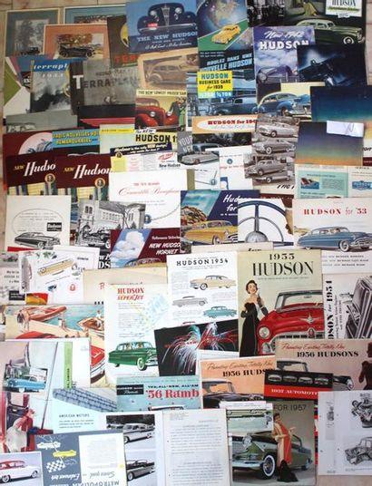 Documentation - Marque HUDSON - Etats-Unis...
