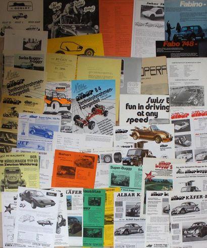 Documentation publicitaire Buggy  MX, Liechtestein,...