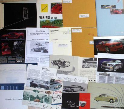 Catalogues voitures de sport USA  Apollo:...