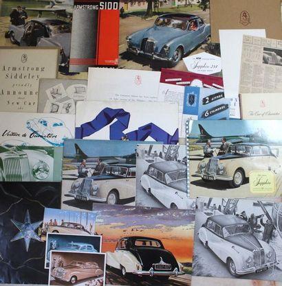 Documentation Armstrong Siddeley  Avant Guerre:...