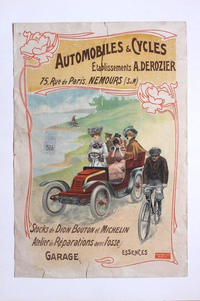 Automobiles et Cycles - Etablissements A.Derozier...