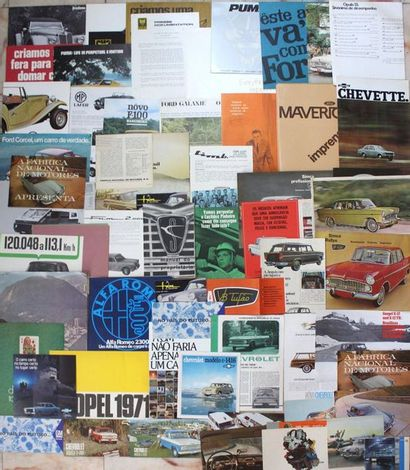 Documentation Automobiles BRESIL  Marques...