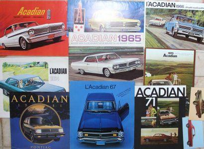 Documentation ACADIAN - GM Canada  Tous les...
