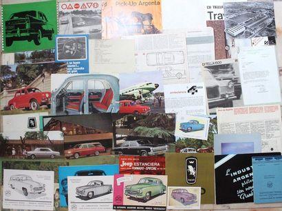 Documentation Marques d'ARGENTINE  Automobiles...