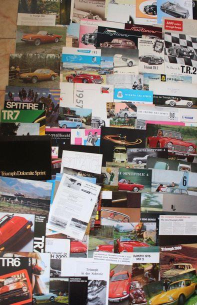 Documentation publicitaire Triumph  Deux...