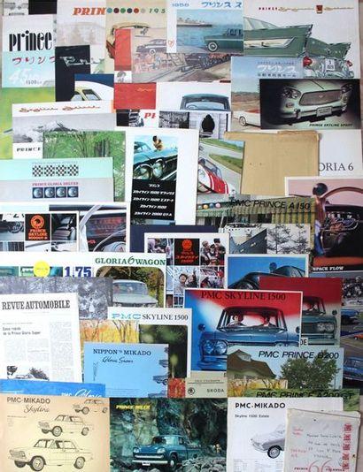 Documentation Automobiles PRINCE - Japon...