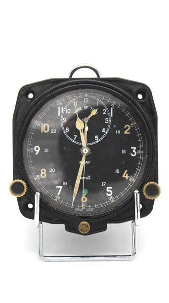 Montre Chronomètre de bord fabrication Suisse...